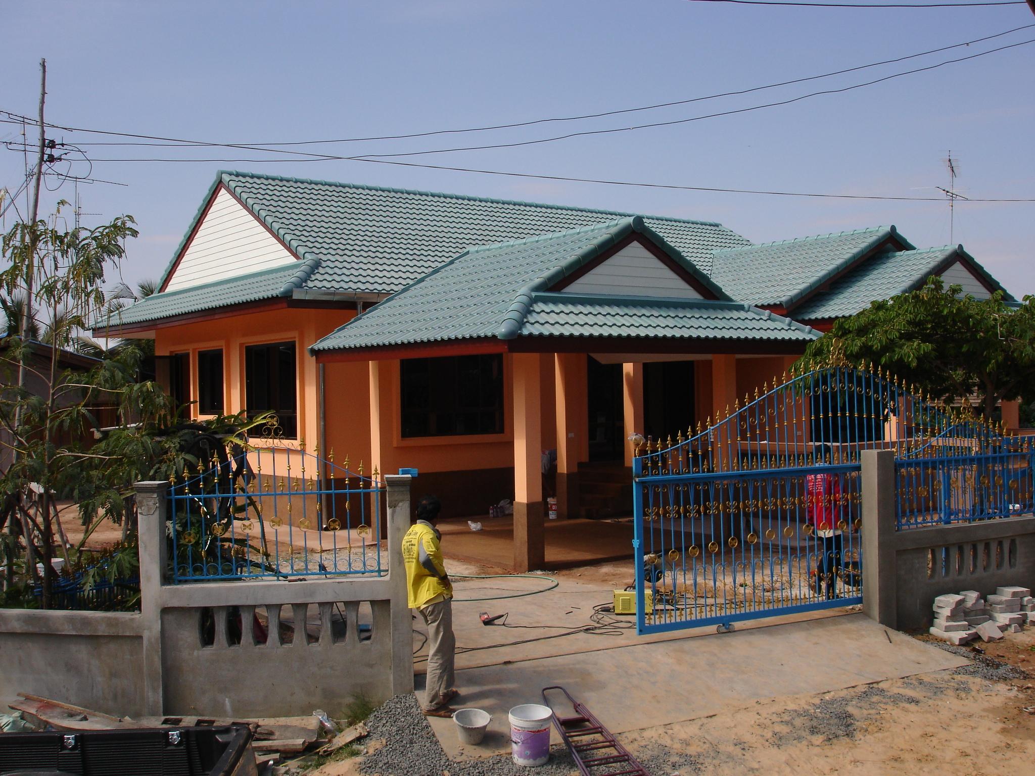 Alan The Builder A House In Satuek Buriram